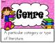 Genre Book Log