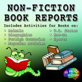 Genre Book Reports – Non-Fiction