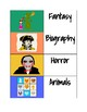 Genre Book Spine Labels and Shelf Labels Classroom Library Organization