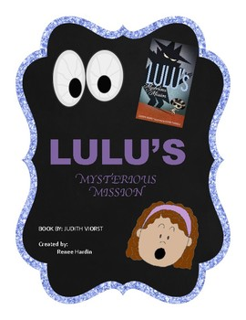 Genre Book Study:  Lulu's Mysterious Mission