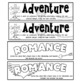 Genre Bookmarks ~ Black and White