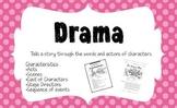 Genre Bulletin Board in Polka Dots & Stripes