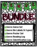 Genre Bundle: Genre Game, Posters (16), Reading Log, Bin Labels, More