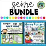 Genre Bundle: Genre Posters and Reading Incentive with Target Tags/Brag Tags