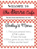 Genre Cafe: Book Tasting Classroom Activity
