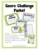 Genre Challenge Packet with Mini-Posters