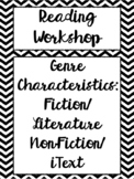 Genre Characteristics - Definitions, Worksheet, Quiz, & Flashcards