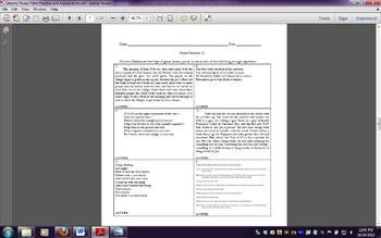 Genre Characteristics & Structures: Practice, Assessment, & Remediation