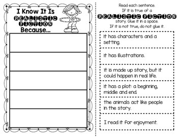 Genre Table Talk: Printables for First Grade & Kindergarten Reading Workshop