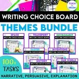 Writing Choice Boards Recount, Persuasive, Narrative, Genres , GROWING BUNDLE!