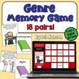 Genre Concentration Game