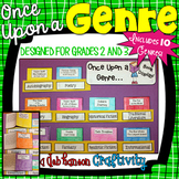 Genre Craftivity for grades 2 and 3