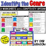 Genre Craftivity for grades 2 and 3