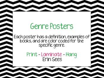 Genre Definition Posters Chevron