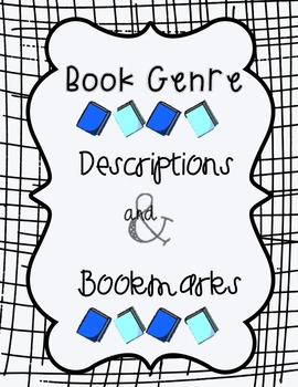 Genre Description Signs & Bookmarks