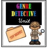 Genre Detective Unit BUNDLE - Teaching Genre - Fiction and
