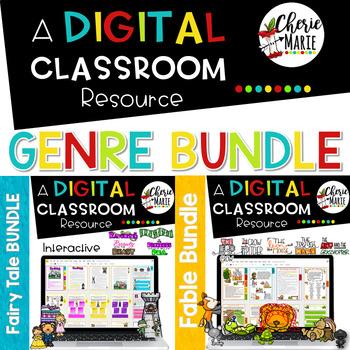 Genre Digital Classroom BUNDLE: RL3.2 RL3.3 RL3.6 RL4.2 RL4.3