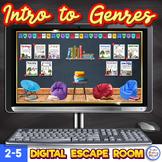 Genre Digital Escape Upper Elementary Introduction to Genres