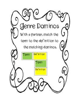 Genre Domino Game