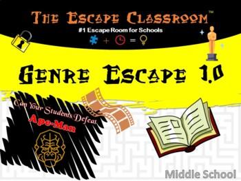Genre Escape Room (6th - 8th Grade) | The Escape Classroom