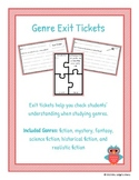 Fiction Genre Exit Tickets