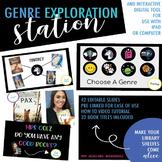 Genre Exploration Station - Interactive Digital Slides
