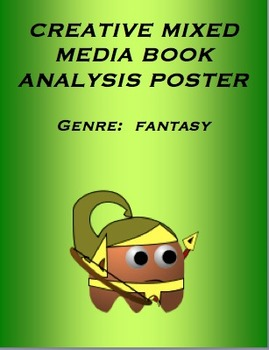 Genre:  Fantasy / Creative Hands-On Mixed Media Poster Activity CCSS Based