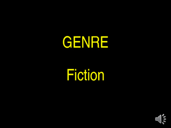 Genre Fiction Introductory PPT