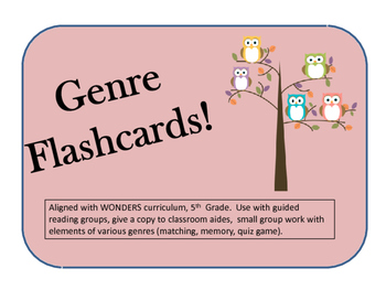 Genre Flashcards