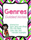 Genre: Guided Notes