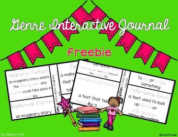Genre Interactive Journal **FREEBIE**
