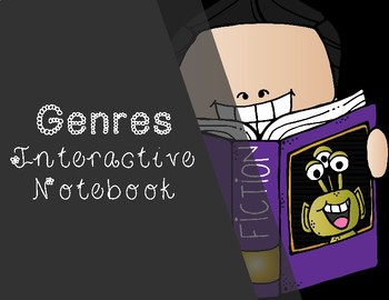 Genre Interactive Notebook -- Pockets and Definition Sort