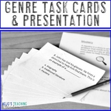 Genre Task Cards | Genre Activities | Genre Assessment