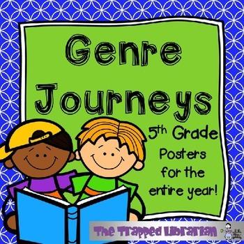 Journeys Genre Posters Grade 5