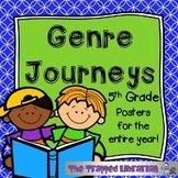 Genre Posters: Journeys Grade 5