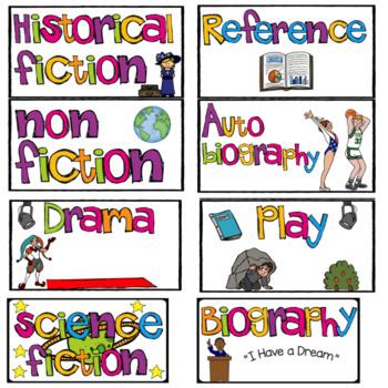 Genre Labels (Cards)