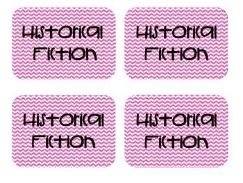 Genre Library Labels