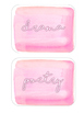 Genre Labels - Pink Watercolor