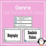 Genre Labels, Descriptions and Foldable (Fiction & Nonfiction)