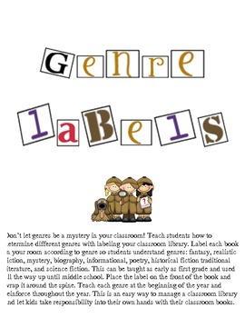 Genre Labels for All