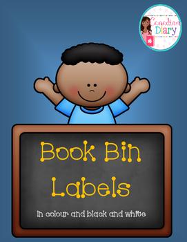 Genre Labels for Book Bin