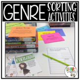 Genre Lesson - Sorting & Matching with Interactive Notebook Options