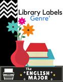 Genre' - Library Labels - Back to School Freebie