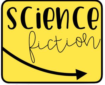 Genre Library Labels - FREEBIE