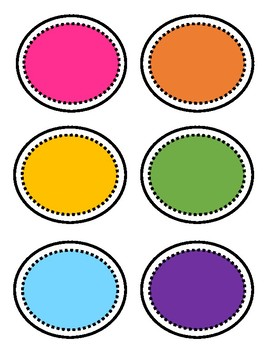 Genre Library Labels (Rainbow Brights & Black and White Collections)