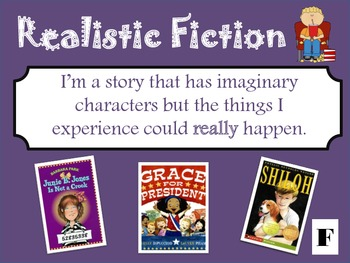 Genre Library - Types of Fiction and Nonfiction books