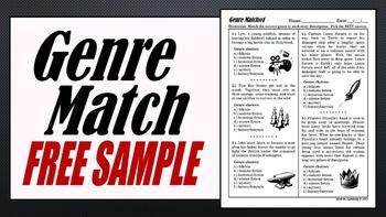 Genre Review Free Sample Worksheet