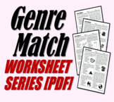 Genre Match (Genre Review Worksheets)