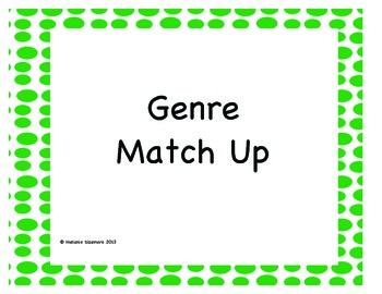 Genre Match Up Puzzles