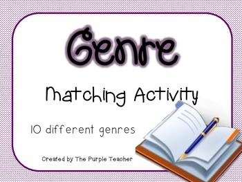 Genre Matching Activity